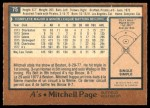 1978 O-Pee-Chee #75  Mitchell Page  Back Thumbnail