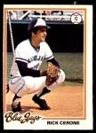 1978 O-Pee-Chee #129  Rick Cerone  Front Thumbnail