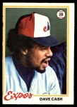 1978 O-Pee-Chee #18  Dave Cash  Front Thumbnail