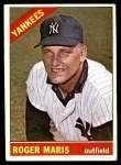 1966 Topps #365  Roger Maris  Front Thumbnail