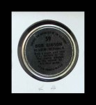 1964 Topps Coins #59  Bob Gibson  Back Thumbnail
