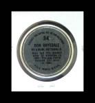 1964 Topps Coins #34   Don Drysdale   Back Thumbnail
