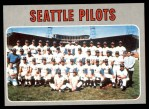 1970 Topps #713   Pilots Team Front Thumbnail