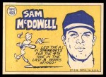 1970 Topps #469   -  Sam McDowell All-Star Back Thumbnail
