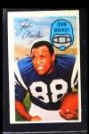 1970 Kellogg's #34  John Mackey  Front Thumbnail