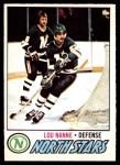 1977 O-Pee-Chee #36  Lou Nanne  Front Thumbnail