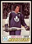 1977 O-Pee-Chee #38  Darryl Sittler  Front Thumbnail
