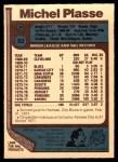 1977 O-Pee-Chee #92  Michel Plasse  Back Thumbnail