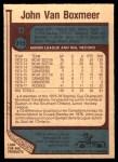 1977 O-Pee-Chee #315  John Van Boxmeer  Back Thumbnail