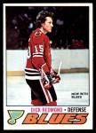 1977 O-Pee-Chee #213  Dick Redmond  Front Thumbnail