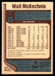 1977 O-Pee-Chee #32  Walt McKechnie  Back Thumbnail