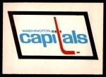 1977 O-Pee-Chee #339   Capitals Records Front Thumbnail