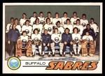1977 O-Pee-Chee #73   Sabres Team Front Thumbnail