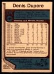 1977 O-Pee-Chee #388  Denis Dupere  Back Thumbnail