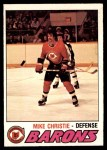 1977 O-Pee-Chee #357  Mike Christie  Front Thumbnail