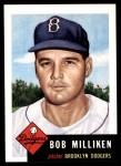 1991 Topps 1953 Archives #221  Bob Milliken  Front Thumbnail