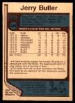 1977 O-Pee-Chee #349  Jerry Butler  Back Thumbnail
