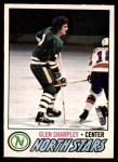 1977 O-Pee-Chee #158  Glen Sharpley  Front Thumbnail