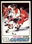 1977 O-Pee-Chee #31  Yvon Labre  Front Thumbnail