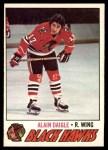 1977 O-Pee-Chee #208  Alain Daigle  Front Thumbnail