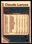 1977 O-Pee-Chee #167  Claude Larose  Back Thumbnail