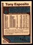 1977 O-Pee-Chee #170  Tony Esposito  Back Thumbnail