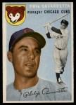1954 Topps #55  Phil Cavarretta  Front Thumbnail