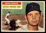 1956 Topps #285  Eddie Miksis  Front Thumbnail