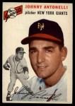 1954 Topps #119  Johnny Antonelli  Front Thumbnail