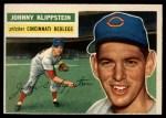 1956 Topps #249  Johnny Klippstein  Front Thumbnail