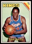 1975 Topps #158  Sam Lacey  Front Thumbnail