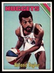 1975 Topps #268  Roland Taylor  Front Thumbnail