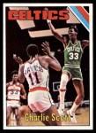 1975 Topps #65  Charlie Scott  Front Thumbnail