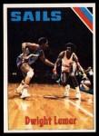 1975 Topps #256  Dwight Lamar  Front Thumbnail