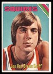 1975 Topps #307  Jan Van Breda Kolff  Front Thumbnail