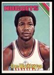 1975 Topps #267  Don Washington  Front Thumbnail