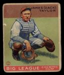 1933 Goudey #152  Zack Taylor  Front Thumbnail