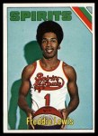 1975 Topps #275  Fred Lewis  Front Thumbnail