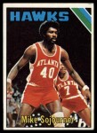 1975 Topps #62  Mike Sojourner  Front Thumbnail