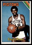 1975 Topps #68  Curtis Rowe  Front Thumbnail