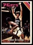 1975 Topps #74  Alan Bristow  Front Thumbnail
