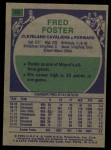 1975 Topps #29  Fred Foster  Back Thumbnail