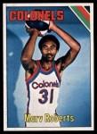 1975 Topps #238  Marv Roberts  Front Thumbnail