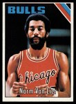 1975 Topps #155  Norm Van Lier  Front Thumbnail