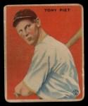 1933 Goudey #228  Tony Piet  Front Thumbnail