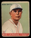 1933 Goudey #185  Bob Smith  Front Thumbnail