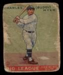 1933 Goudey #153  Buddy Myer  Front Thumbnail