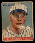 1933 Goudey #94  Bill Walker  Front Thumbnail