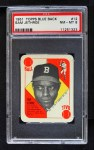 1951 Topps Blue Back #12  Sam Jethroe  Front Thumbnail