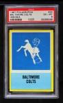 1967 Philadelphia #24   Baltimore Colts Logo Front Thumbnail